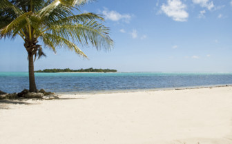 Picture of little Cayman Beach