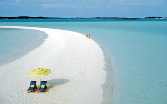 Picture of sand cay Bahamas