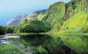Picture of Beautiful Azores landscape