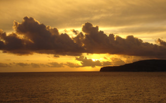 Picture of sunset in Gozo