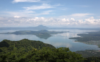 Picture of Taal Lake Philippines