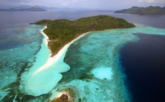 Picture of Aerial shot of Palawan