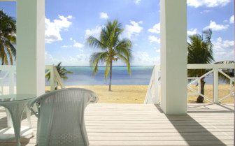 Picture of the view at Little Cayman