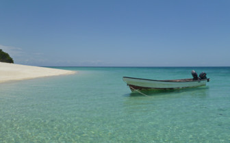 Picture of Boat in the water Pemba Island