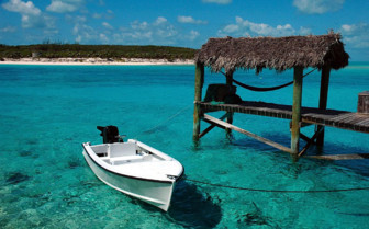 Picture of small boat Grand Bahama Island