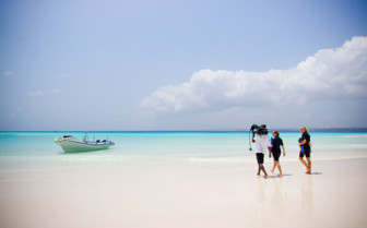 Picture of Mnemba Island white beach