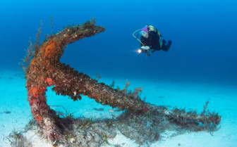 Picture of scuba diving in Gozo