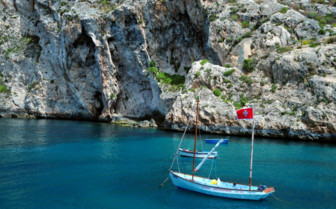 Picture of boat in Gozo