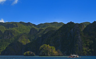 Picture of Palawan landscape