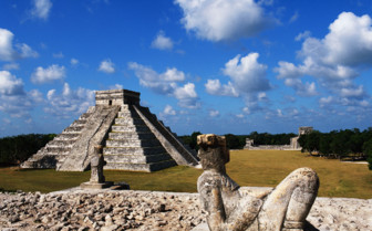 Picture of Mayan ruins