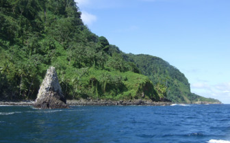Picture of the Cocos shoreline