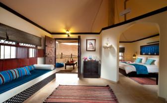 Luxury suite at Desert Night Camp, luxury camp in Oman