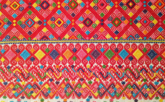 Colourful Textiles in Mexico