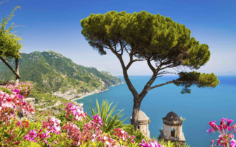 A seaview of the Amalfi Coast
