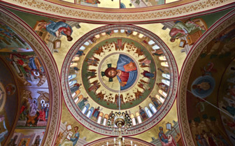 A Painted Church Ceiling