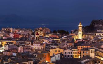 Corfu Old Town at Night