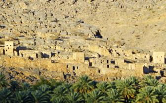 A Rocky Omani Town