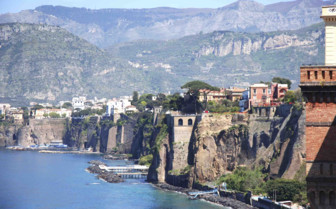 View over Amalfi