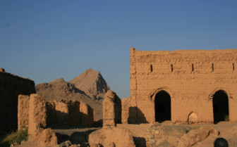 Ruins in the Wahiba Sands