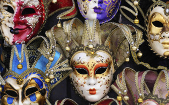 Venetian decorative masks