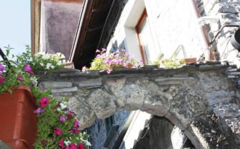 Archway in village