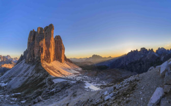 Rocky peaks
