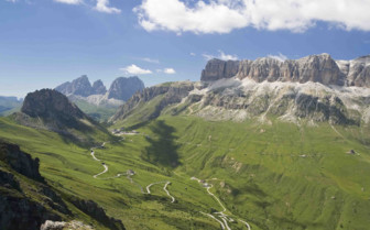 Paths amidst the peaks