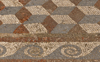 Mosaic Tiles in Mykonos