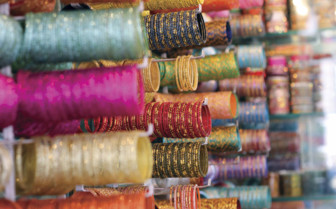 Colourful bangles