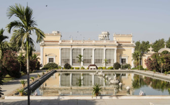 The Pool at Chowmahalla Palace