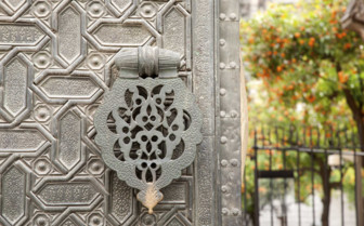 A Door Handle at the Cathedral