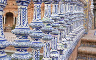 Painted Columns in Seville