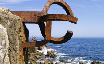 Rusted Metal at Peine del Viento