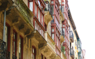 Houses in the Bilbao Viejo