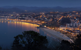 San Sebastian by Night