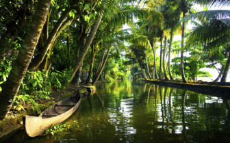 Mystical backwaters and boat