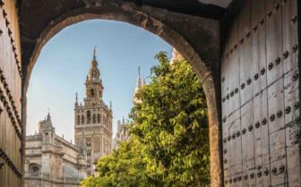 La Giralda Cathedral Doorway