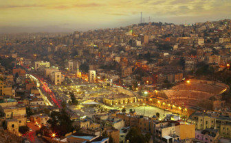 Dusk over Amman