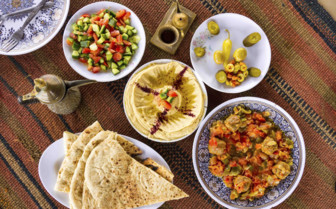 Typical Jordanian food