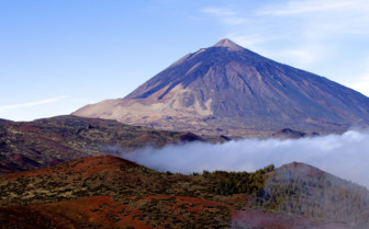 Mount Teide Emerging from the Mist