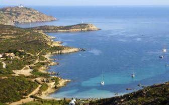 The French coastline