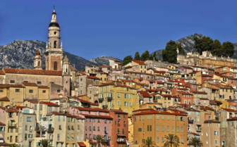 French riviera town