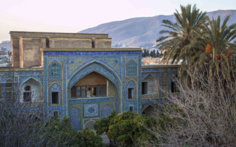 A Blue Mosque in Shiraz