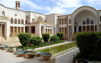A House and Garden in Kashan