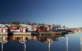 Houses on the Swedish Archipelago