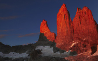 Sunset in Torres del Paine