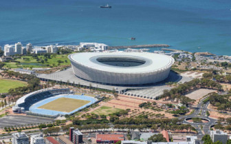 Stadium on Shore of Cape Town