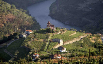 Douro Valley Aerial