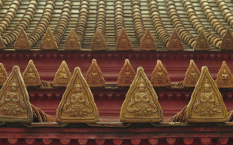 Roof Detail of the Marble Temple