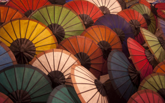 Colourful Parasols
